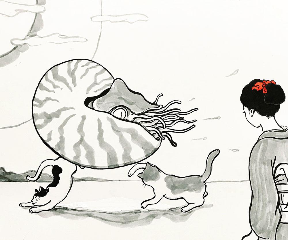 鸚鵡貝の怪