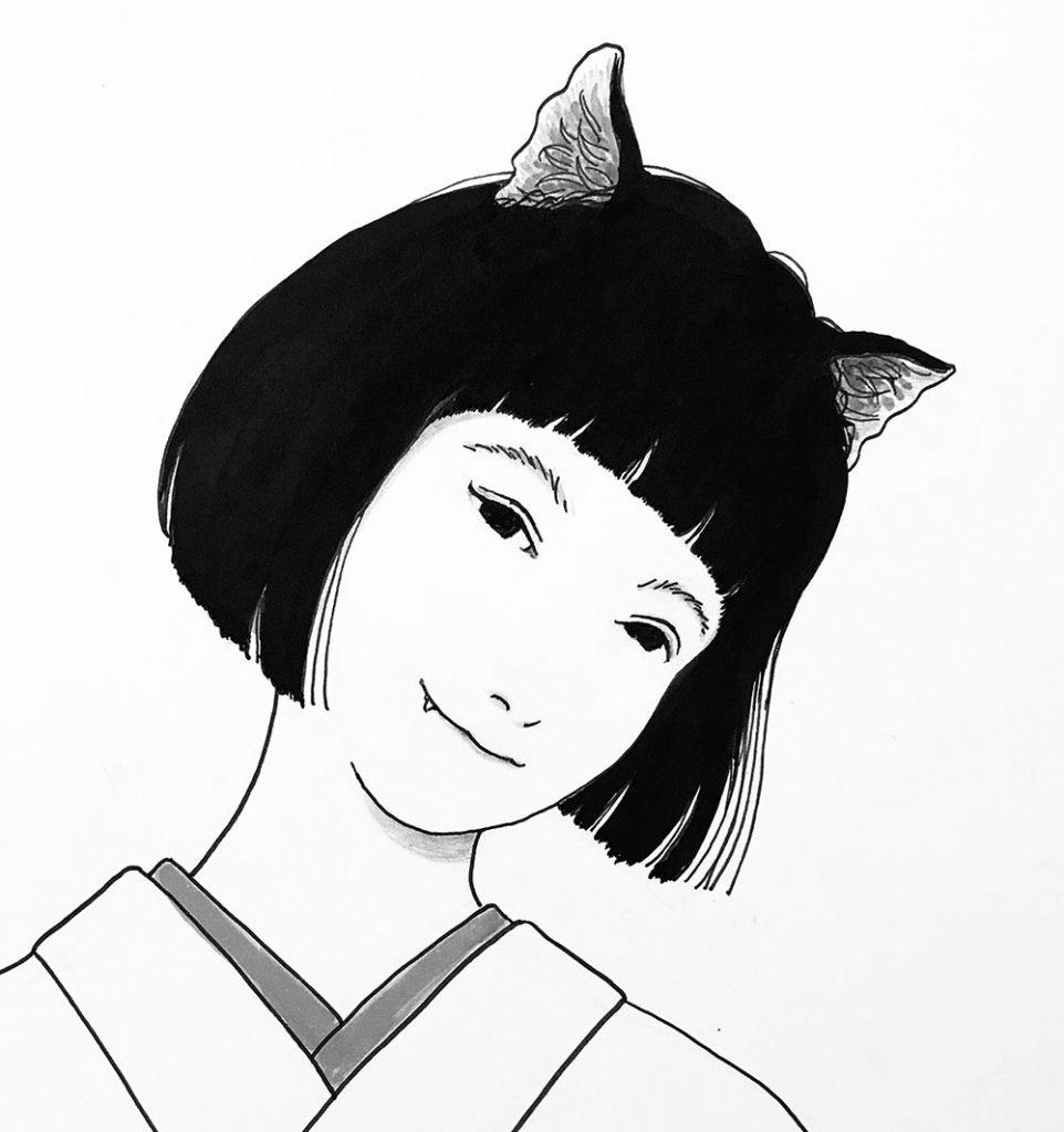 猫又親分の娘
