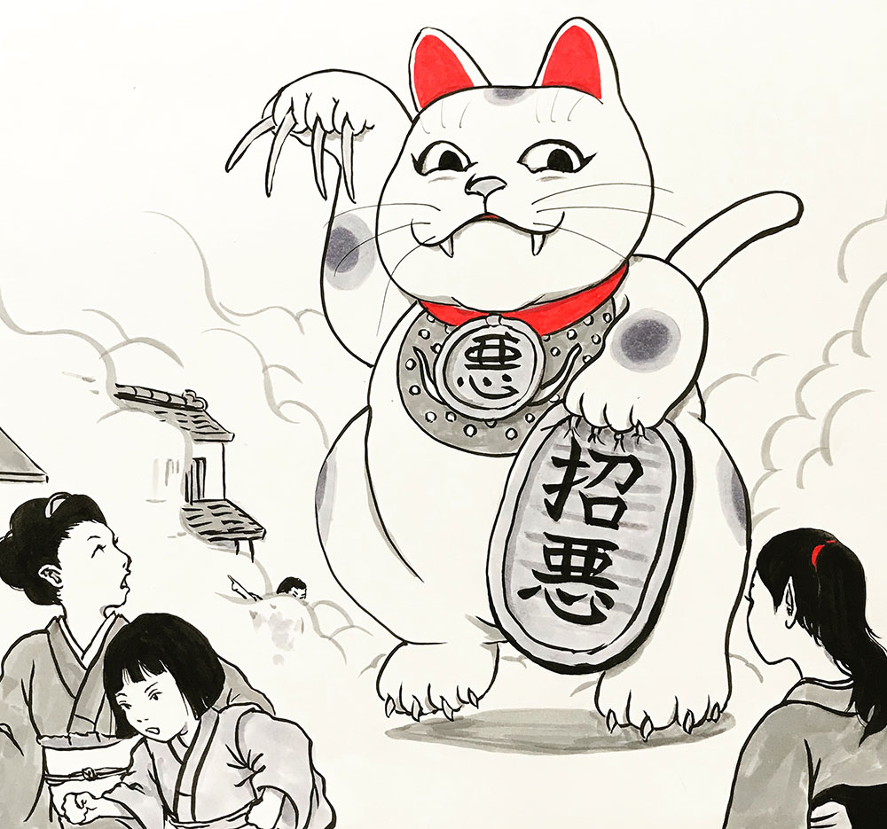 招き猫おまえもか! MANEKINEKO
