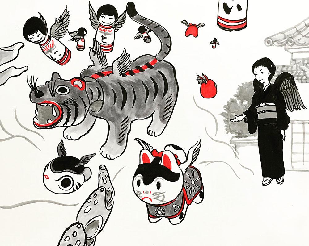伝統工芸品の怪おわり KARASU