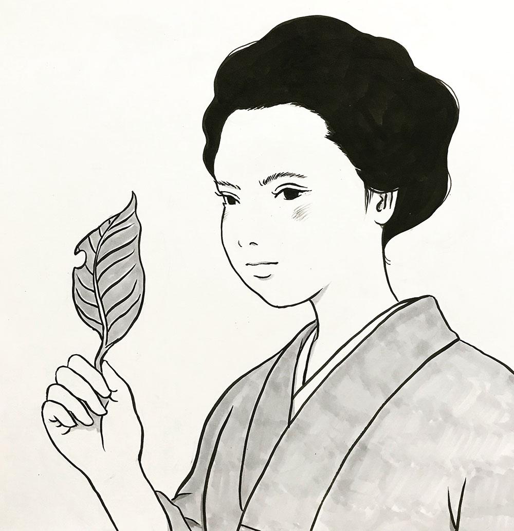 恋に悩むたぬきさん TANUKI