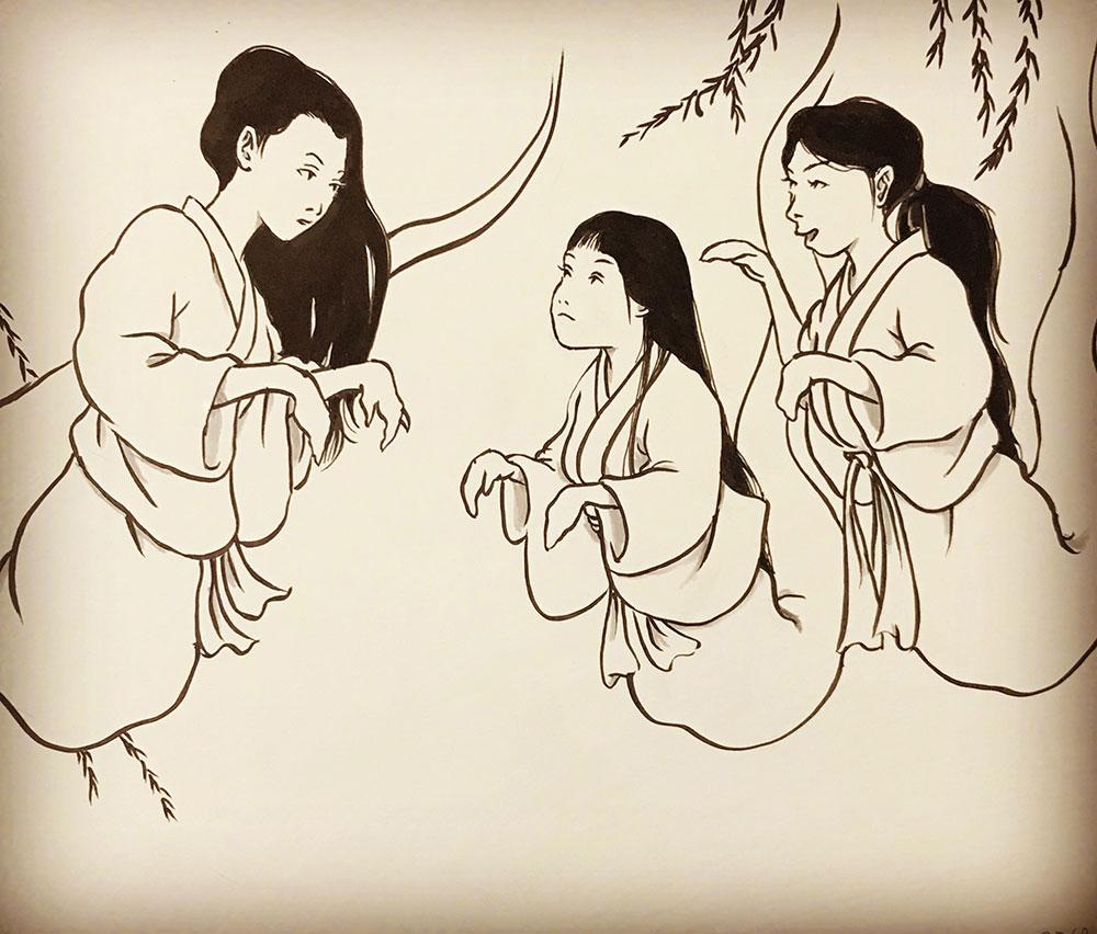 おしづさん新人に一言 YUREI-OSHIZU