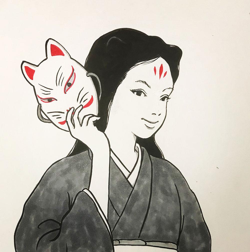 狐姉さん2 KITSUNE