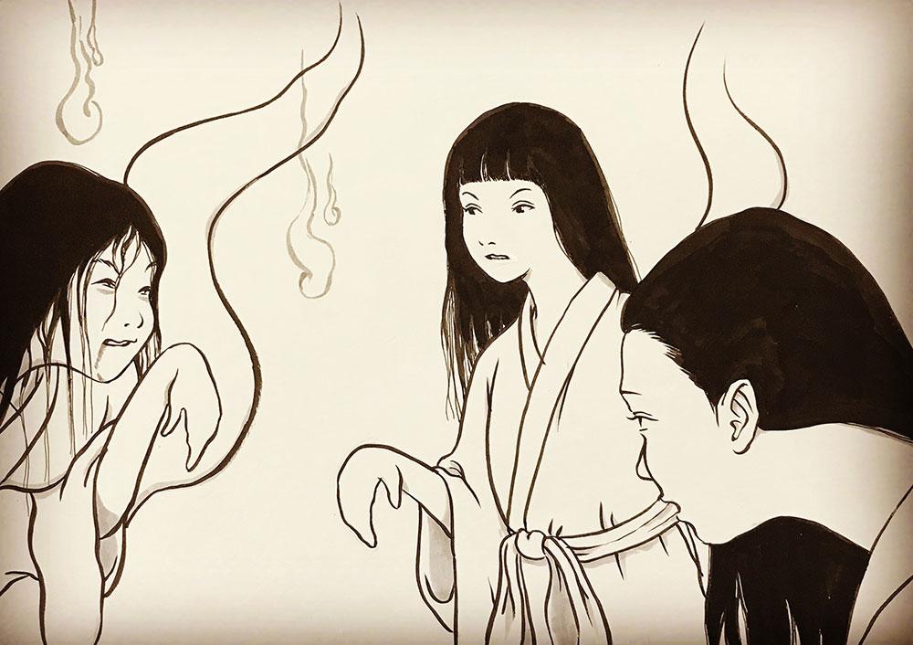 幽霊おしづのアドバイスその二 YUREI-OSHIZU
