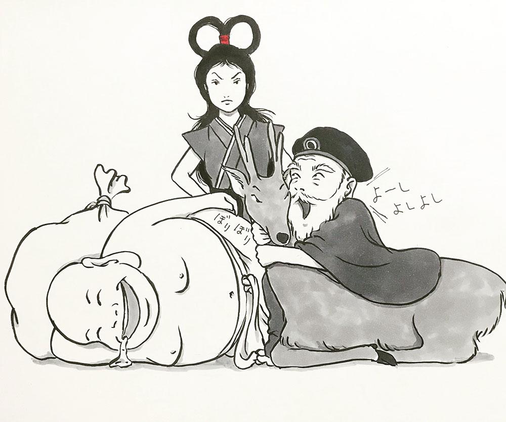 不機嫌な弁天ちゃん SHICHIFUKUJIN