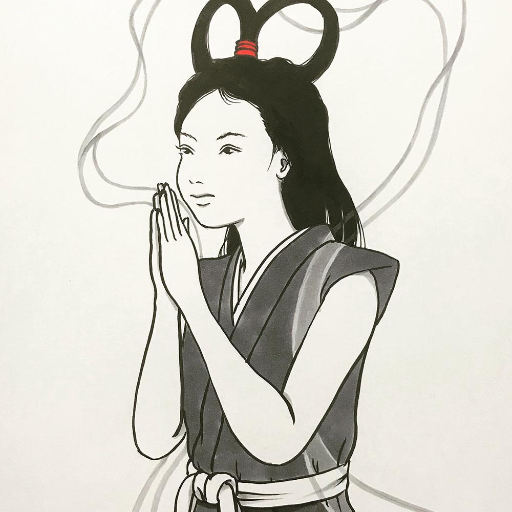 祈る弁天ちゃん SHICHIFUKUJIN