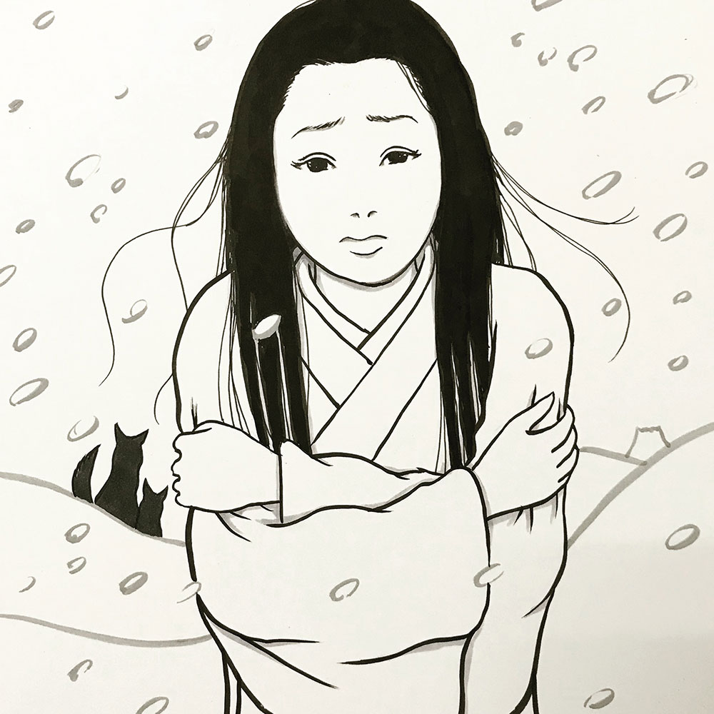 寒がりな雪女 YUKIONNA