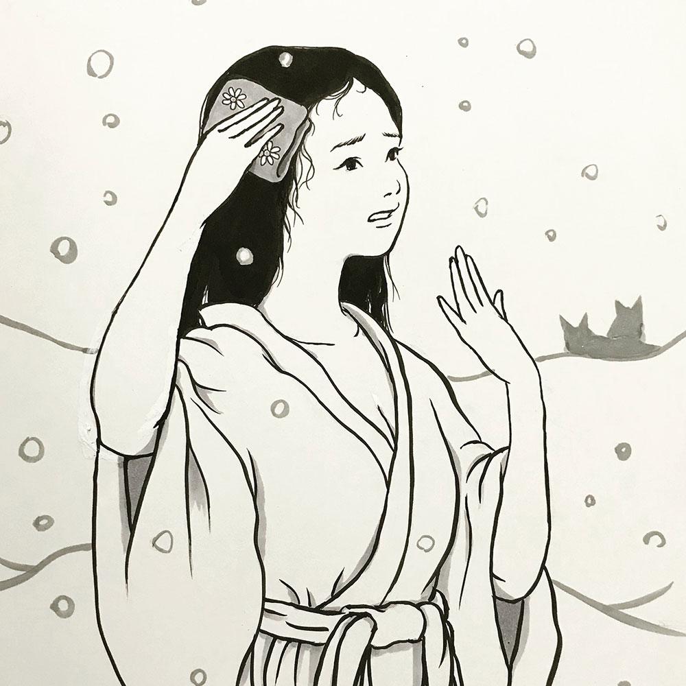暑がりな雪女 YUKIONNA