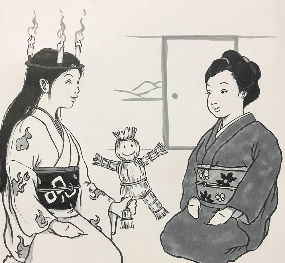 丑の刻参り(姉妹再び) USHINOKOKU-MAIRI