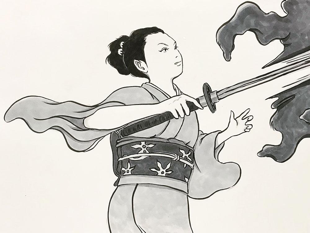 女侍,斬る! ONNA-SAMURAI