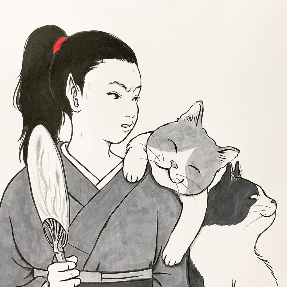 からすと猫たち KARASU&NEKO