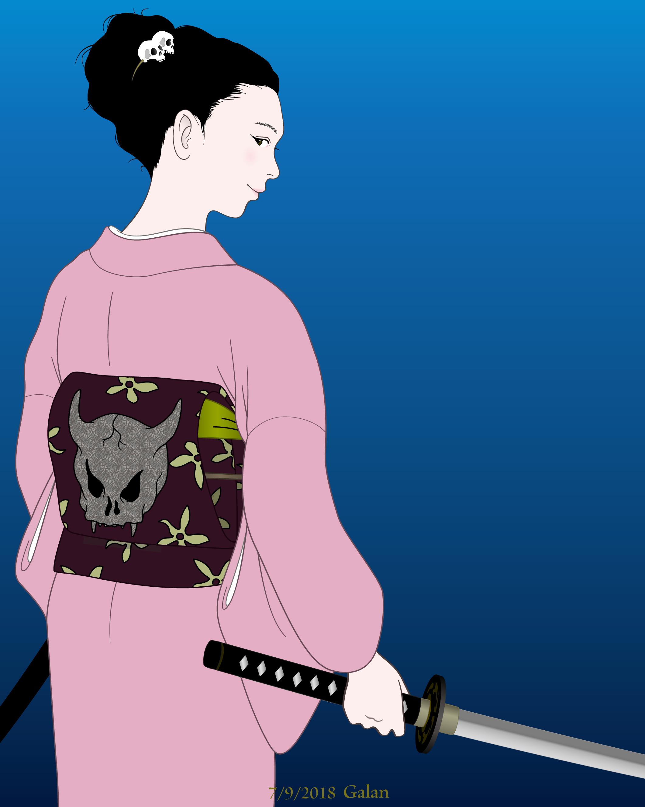 女侍 ONNA-SAMURAI