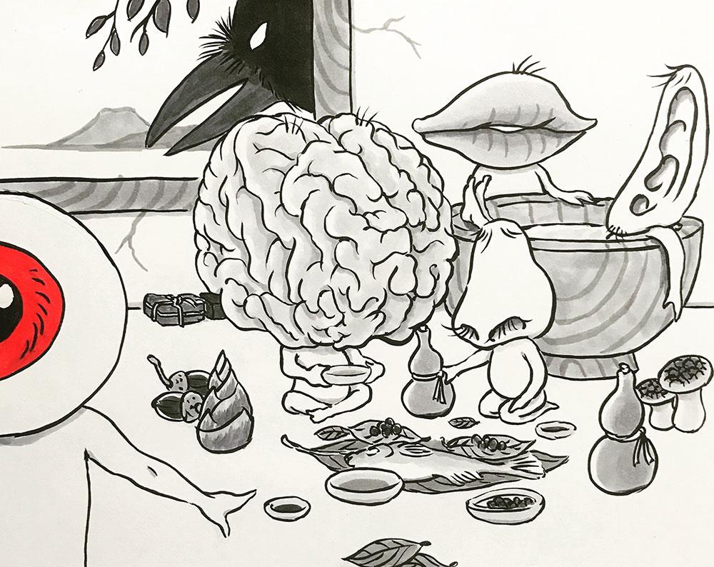脳の親父と口の親父追加 OYAJI+