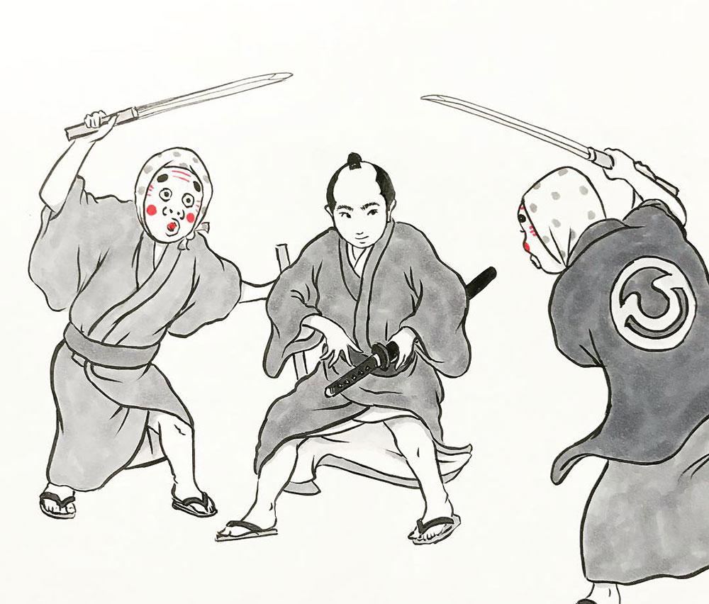 村上久蔵に刺客! SHIKAKU1