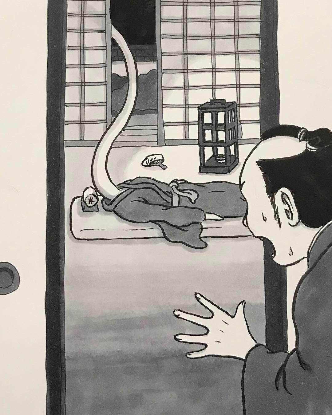 ろくろっ首のお菊さん久々 ROKURO-KUBI2