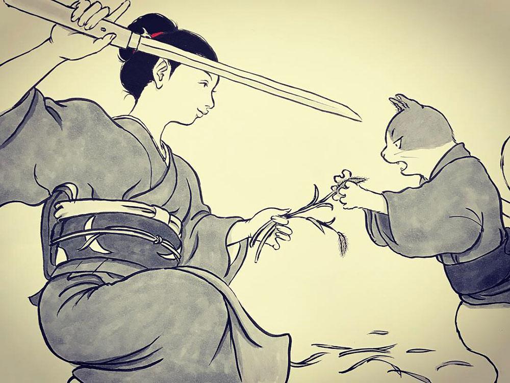 ハチとねえさん(最終) NEKOMATA5