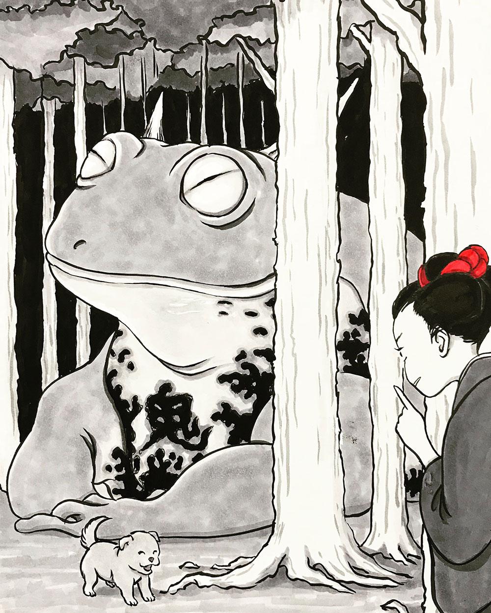 鬼蛙 KAERU
