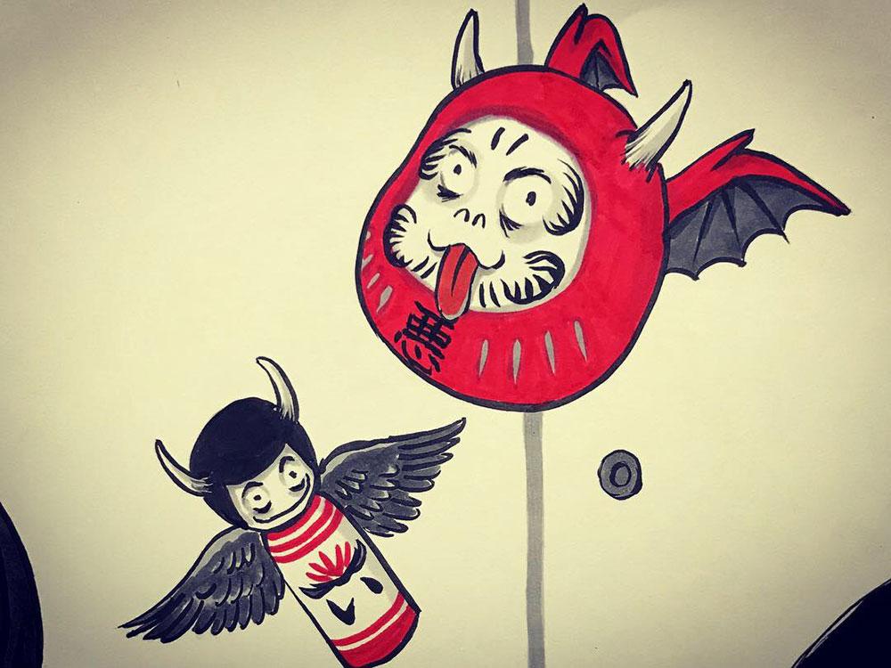 妖怪からす 角の怪2 KARASU3