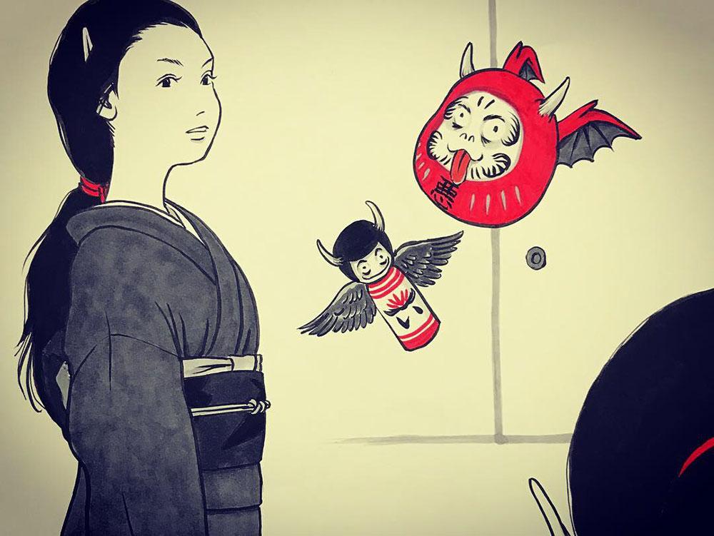 妖怪からす 角の怪2 KARASU4