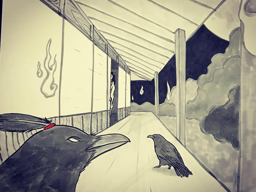 妖怪からす 角の怪3 KARASU4
