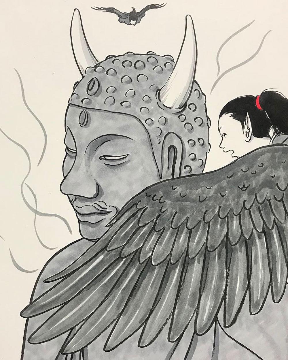 妖怪からす 角の怪6 KARASU2