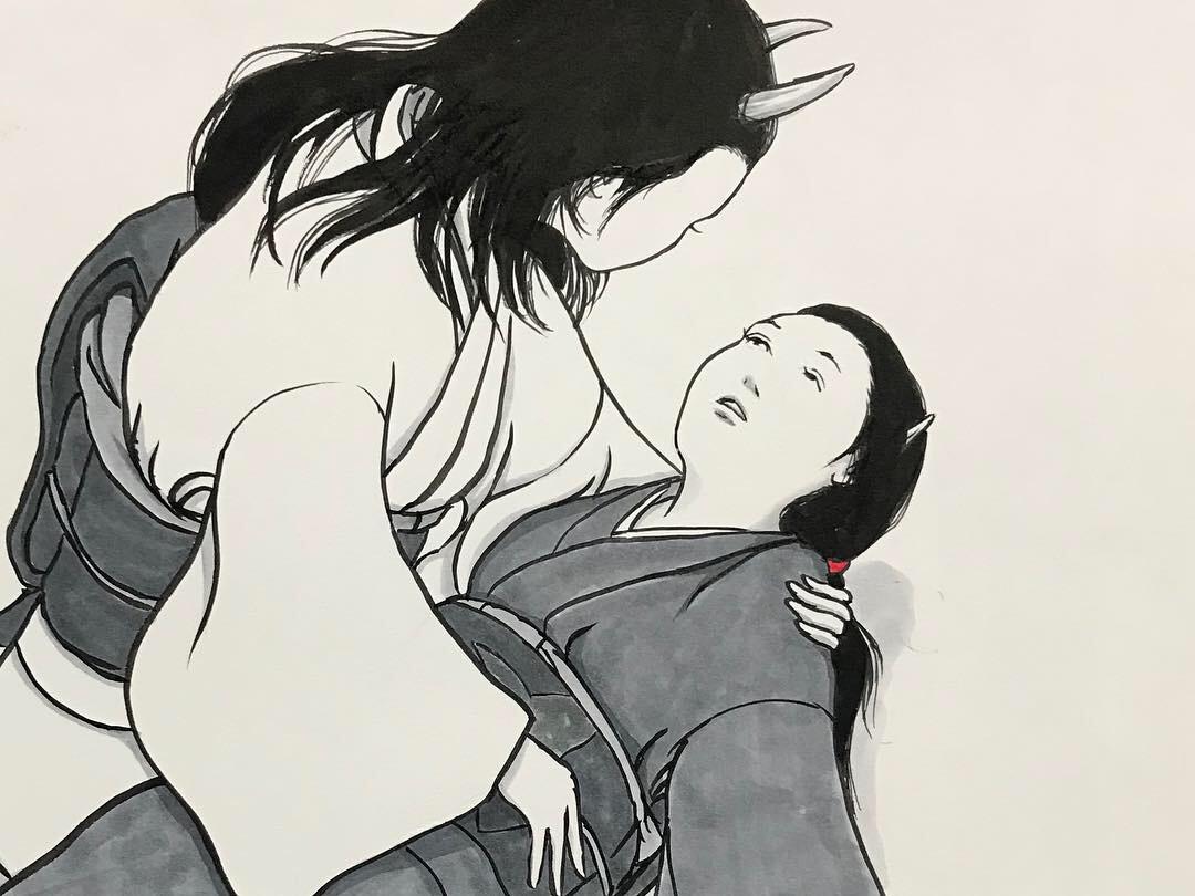 妖怪からす 角の怪7 KARASU7