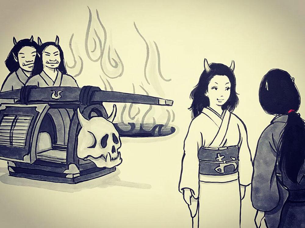 妖怪からす 角の怪9 KARASU1