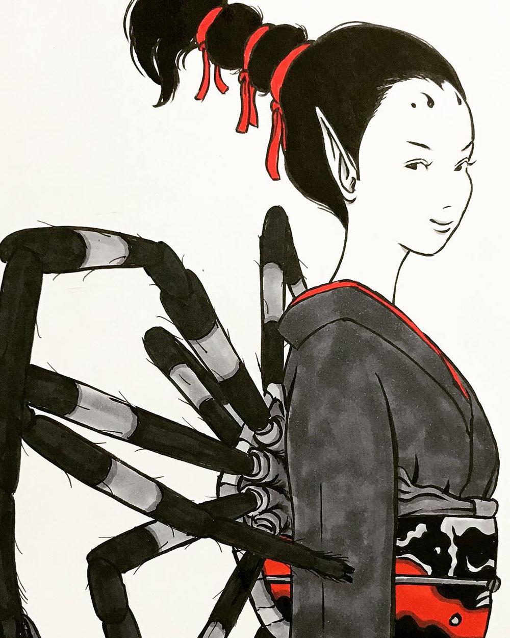 恐怖の女郎蜘蛛 JOROGUMO1