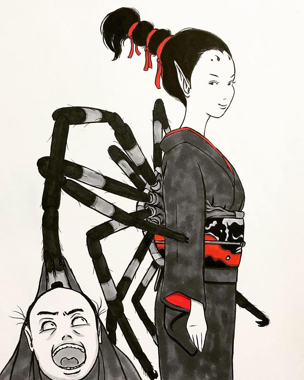 恐怖の女郎蜘蛛 JOROGUMO2