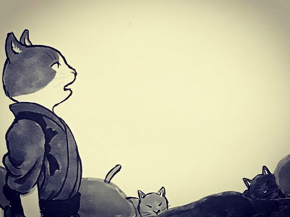 月にのねえさんと怪獣2 NEKOMATA2