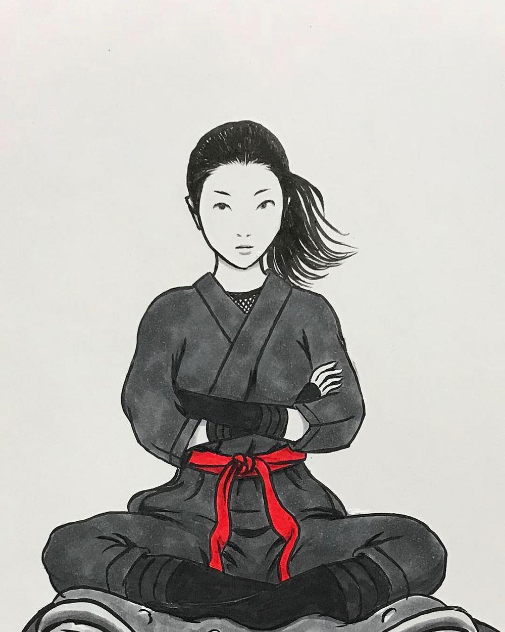 ひさびさの忍者 NINJA1