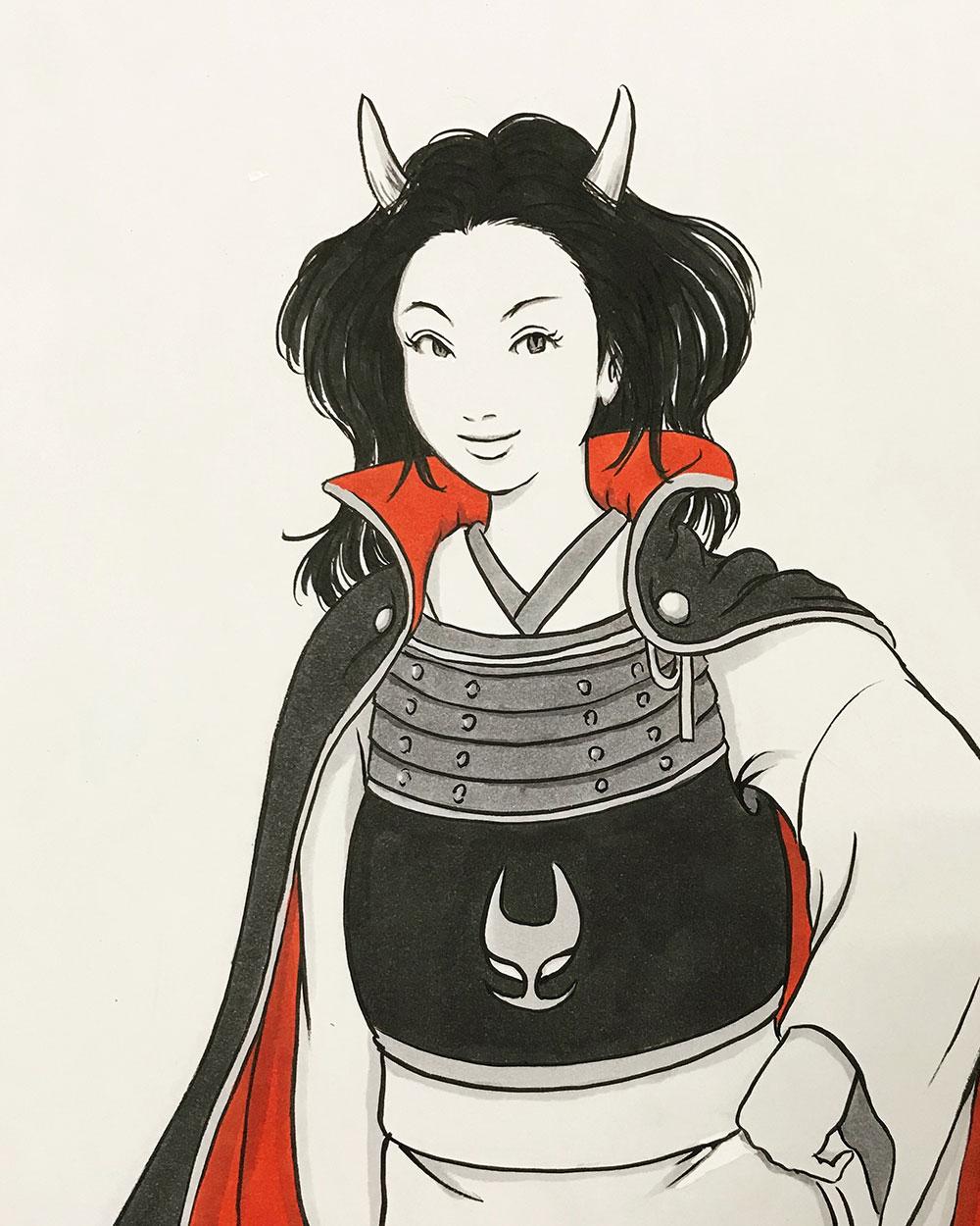 閻魔大王特別補佐官ノリカ ONI-NORIKA