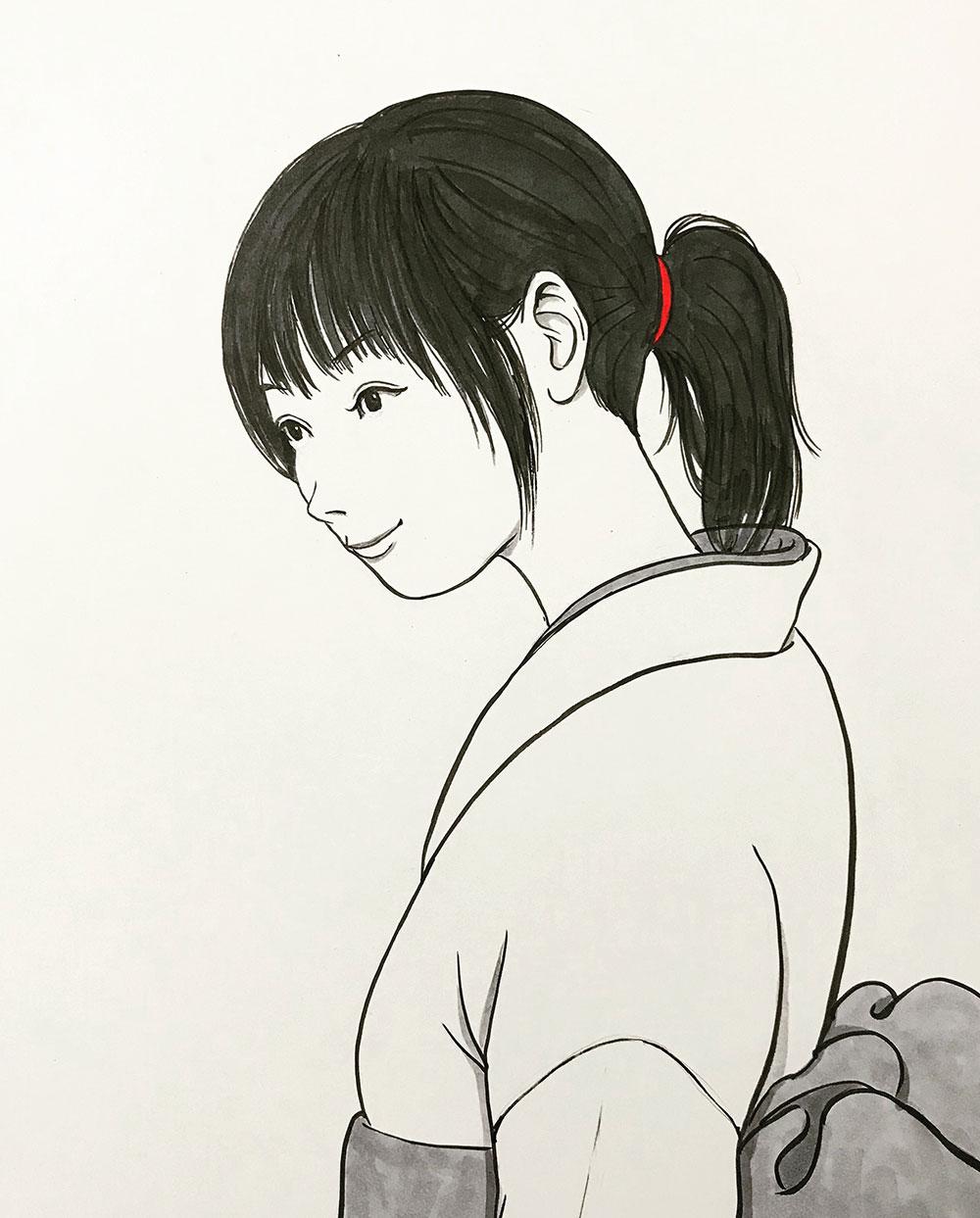 着物の女 KIMONO-ONNA
