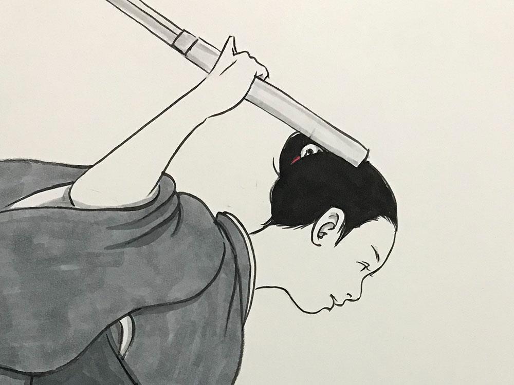 師匠との別れ1 NEKOMATA5