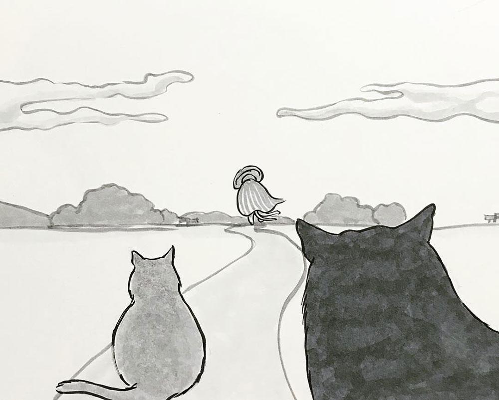 師匠との別れ2 NEKOMATA3