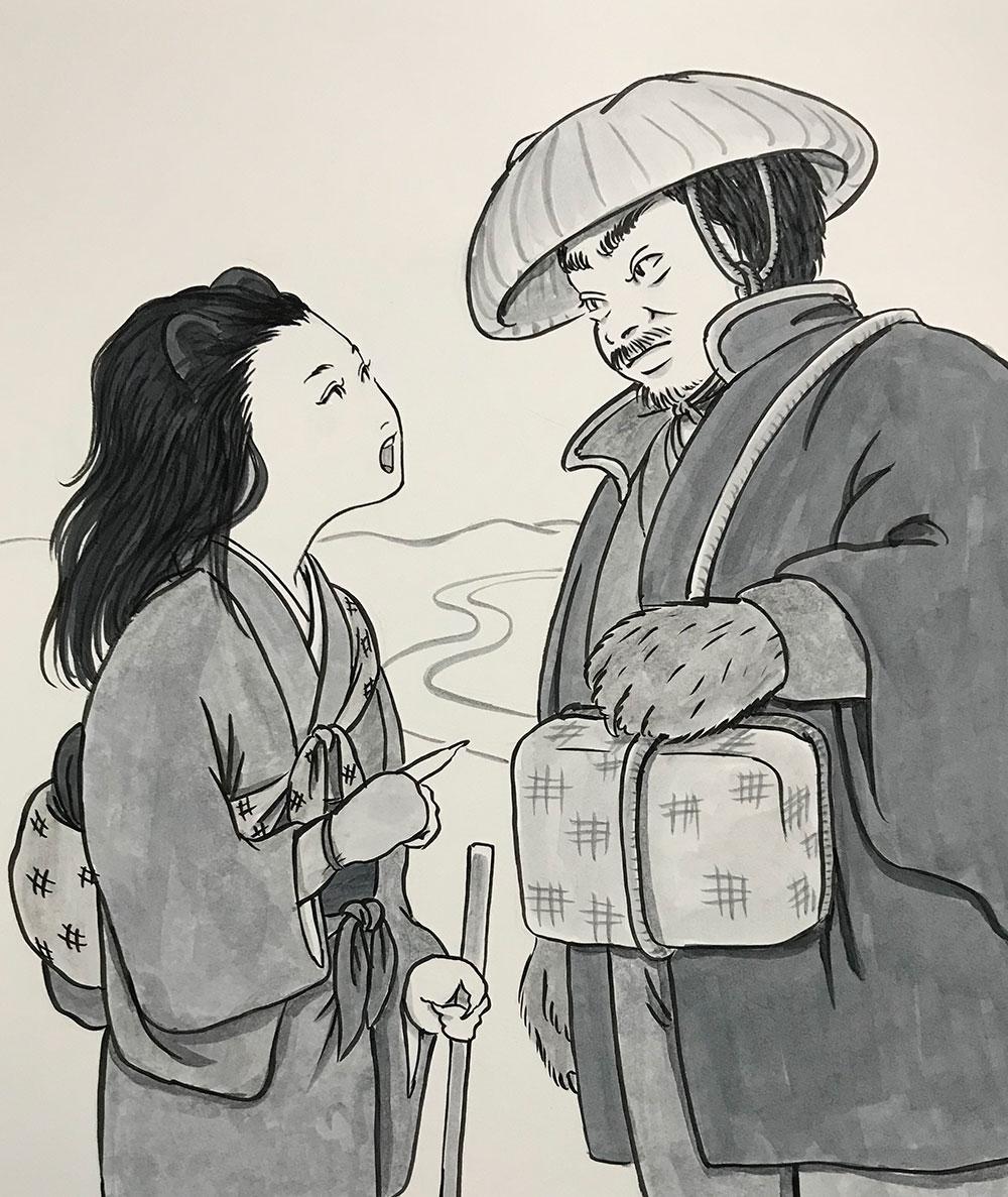 かまいたち親子江戸へ KAMAITACHI