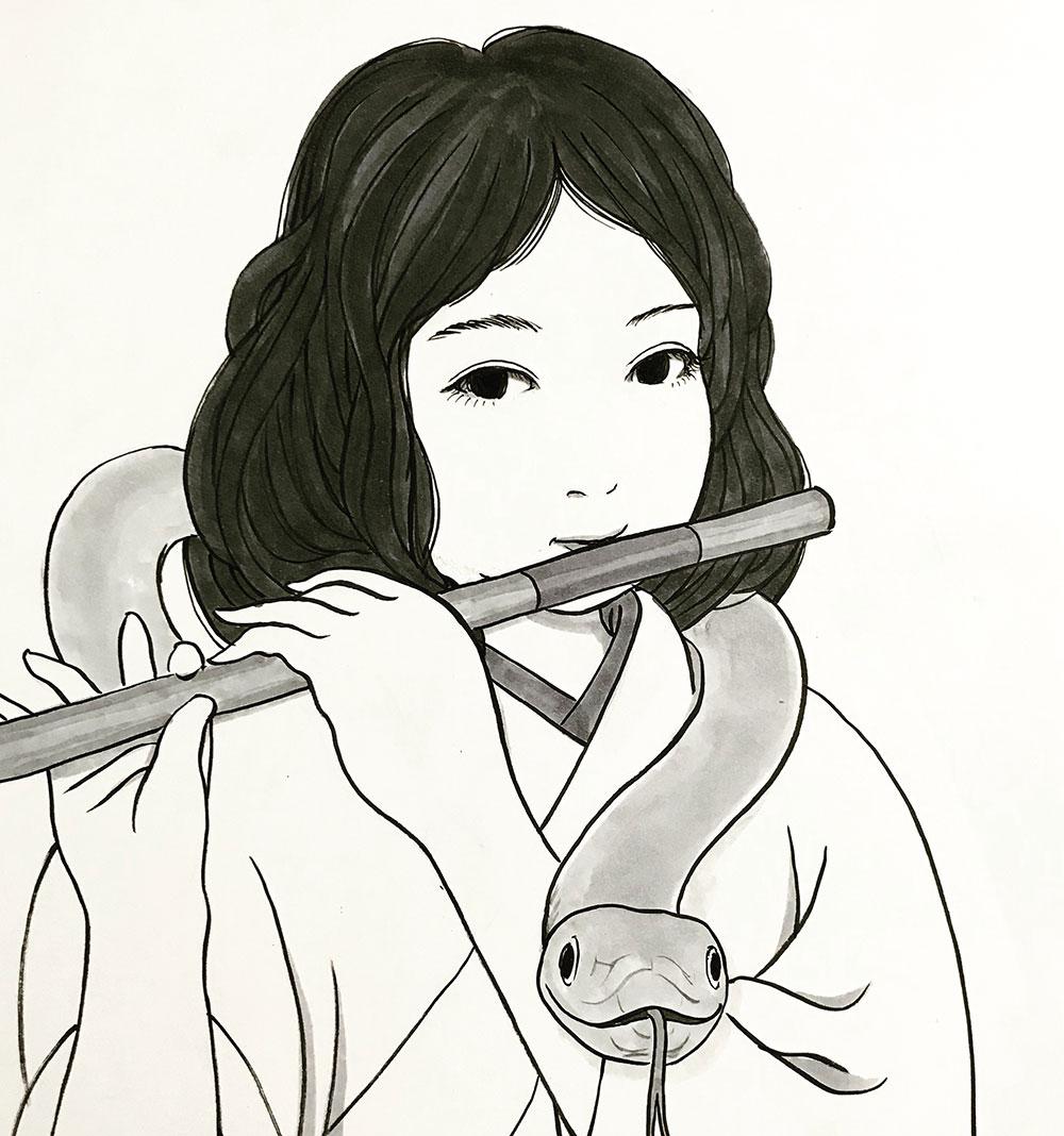 蛇使いの女 HEBITSUKAI