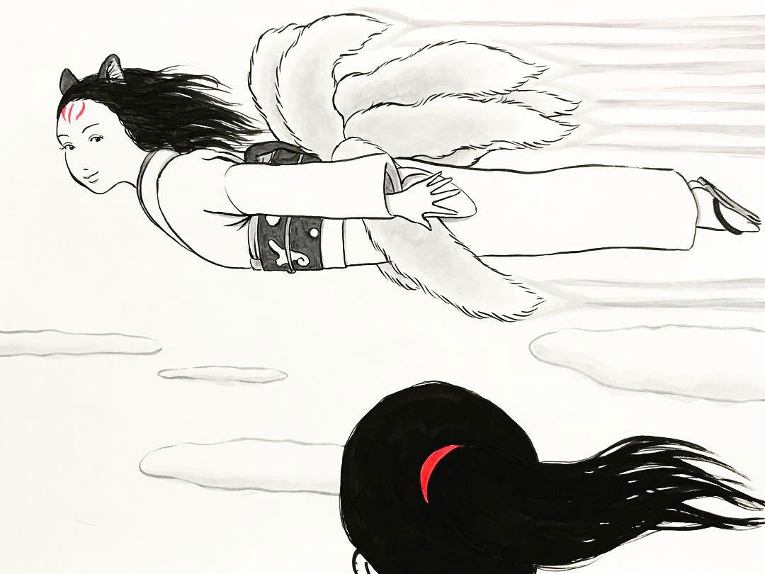 空飛ぶおこんと巫女さん OKON&MIKOSAN5