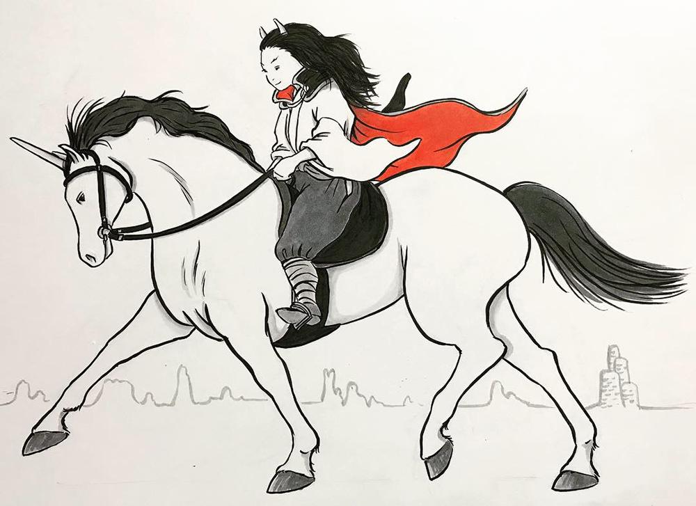 地獄での乗馬 NORIKA&UMA1