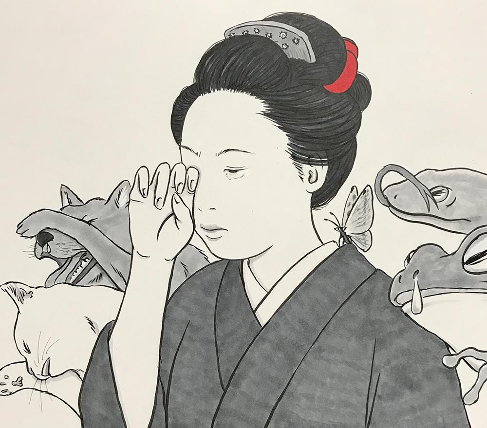 花粉症の絵 KAFUNSHO1