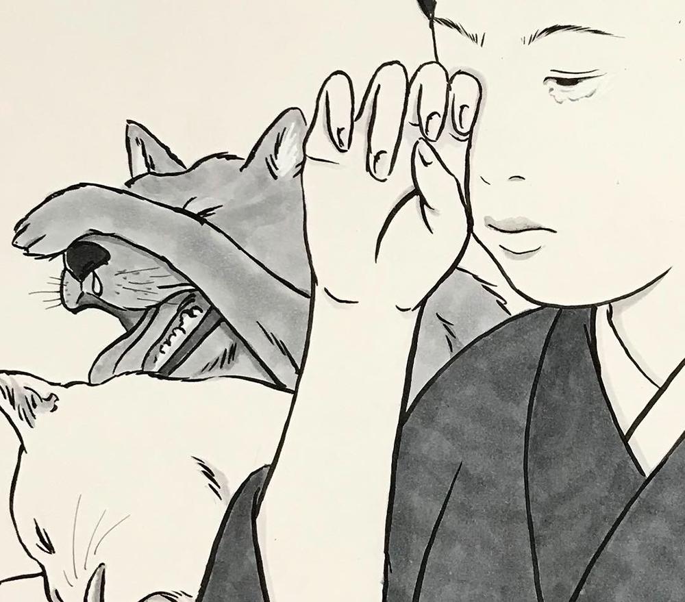 花粉症の絵 KAFUNSHO2