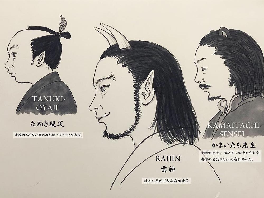 ひたすら横顔を描く2(男性編) YOKOGAO2