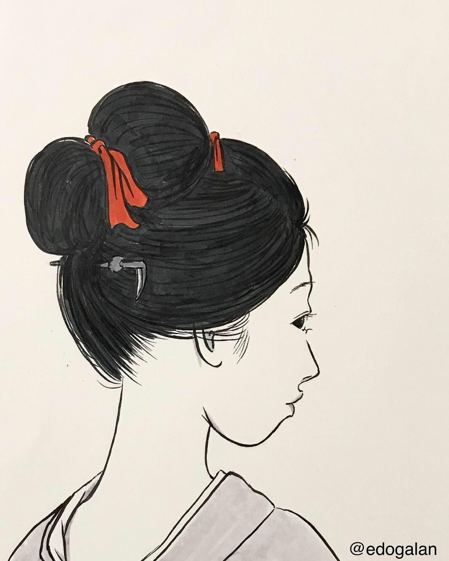 鎖鎌を持つ女 KUSARIGAMA1