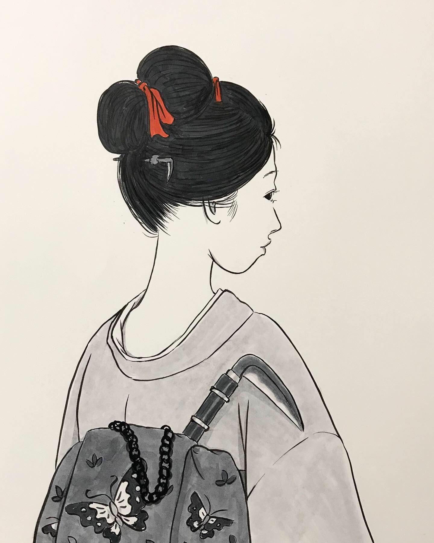 鎖鎌を持つ女 KUSARIGAMA2