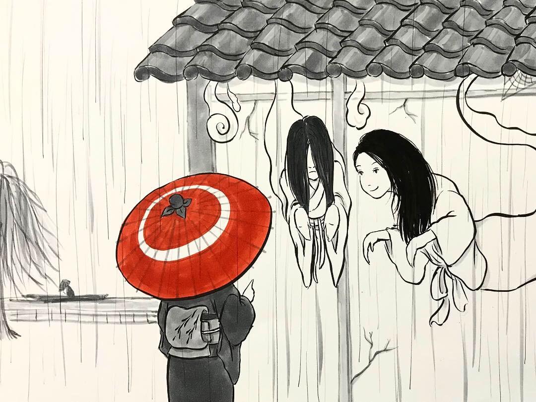 雨宿りシリーズ① AMAYADORI3