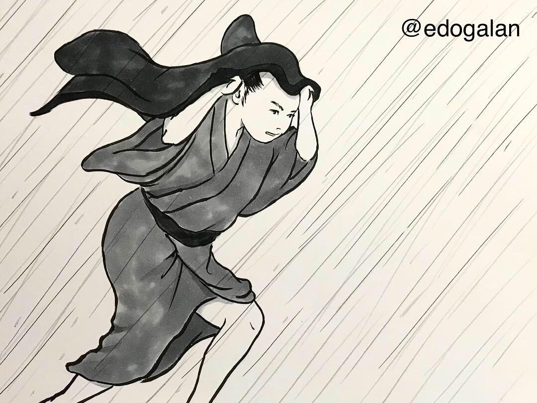 雨宿りシリーズ③ AMAYADORI1