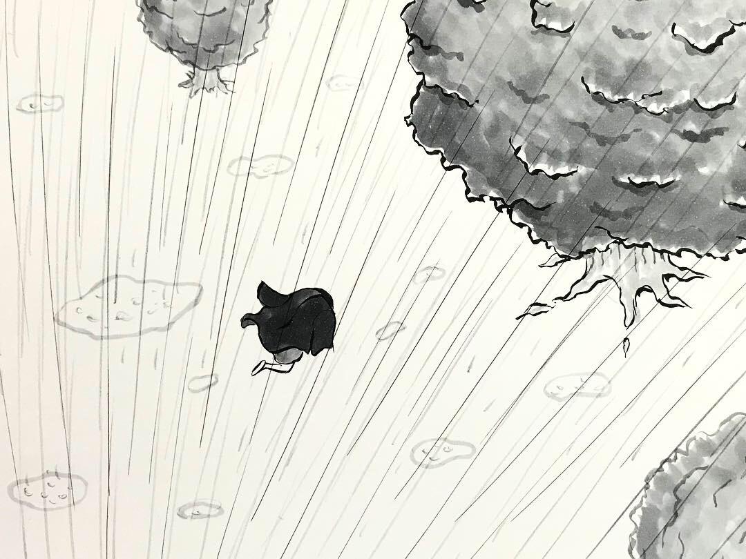 雨宿りシリーズ③ AMAYADORI2