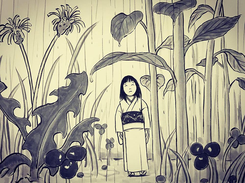 雨宿りシリーズ⑤ AMAYADORI1