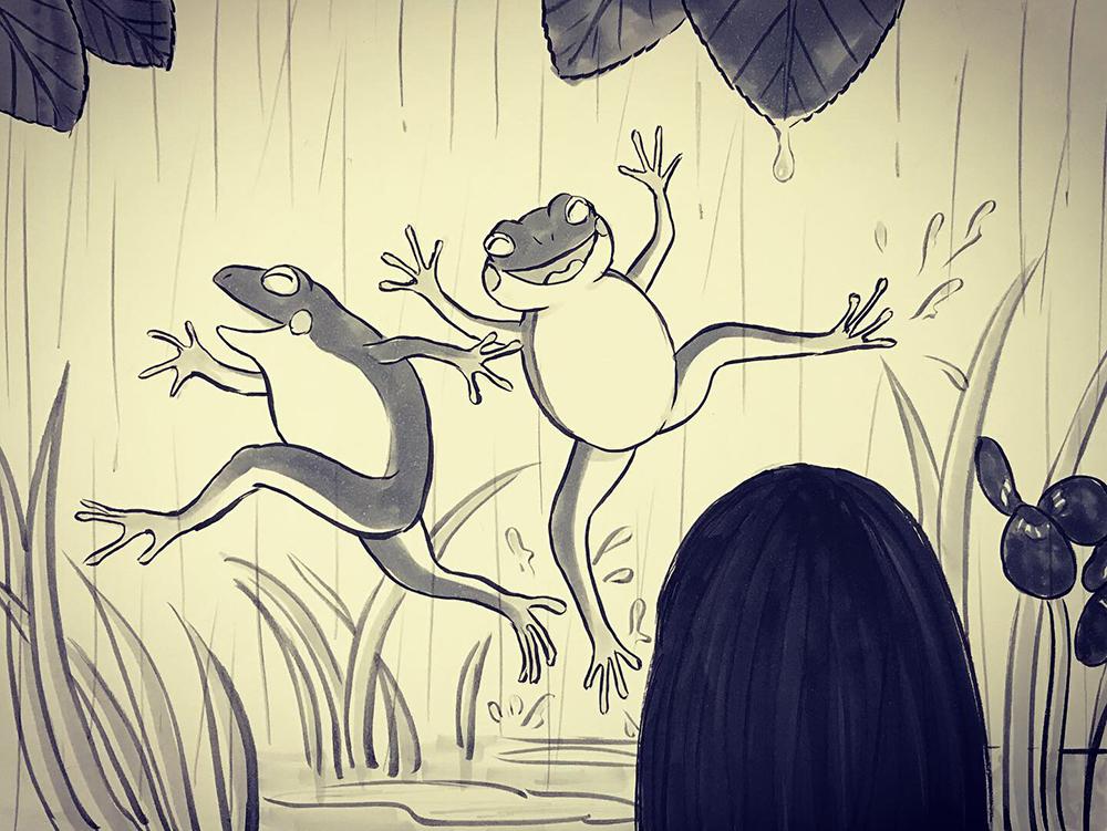 雨宿りシリーズ⑤ AMAYADORI3