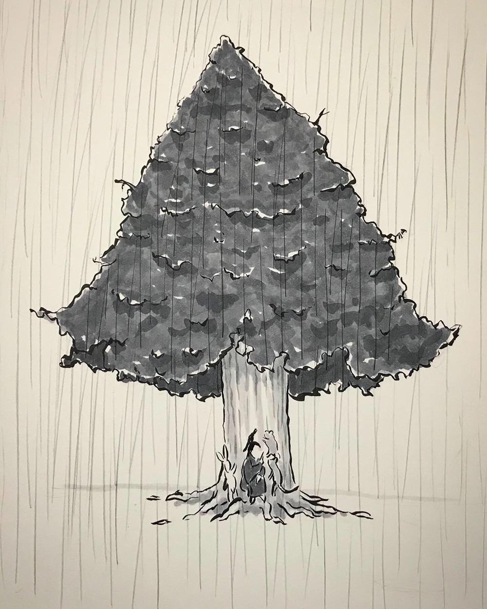雨宿りシリーズ⑥ AMAYADORI2